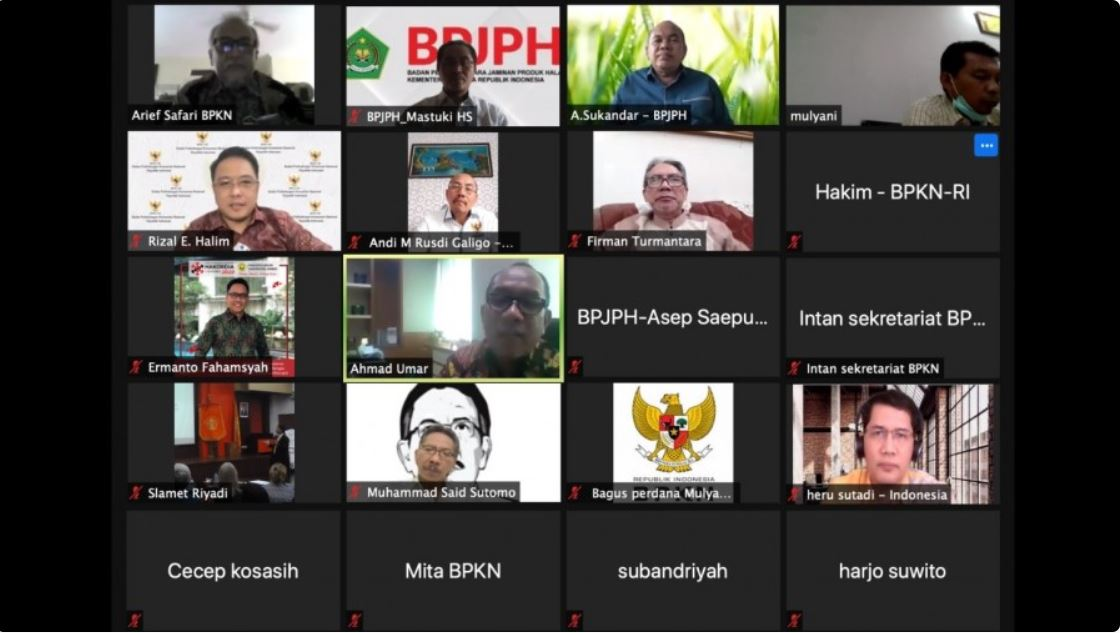 BPJPH - BPKN Siapkan Sinergi Jaminan Produk Halal